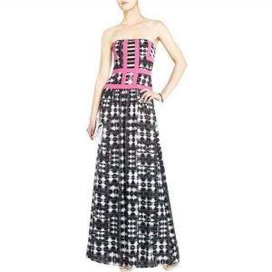 BCBG Gracelyn Strapless Evening Gown